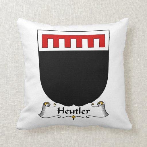Escudo de la familia de Heutler Almohadas