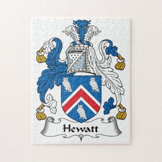 Escudo de la familia de Hewatt Puzzles Con Fotos