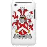 Escudo de la familia de Hewitt iPod Touch Carcasas