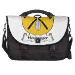 Escudo de la familia de Heydegger Bolsa De Ordenador
