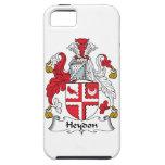 Escudo de la familia de Heydon iPhone 5 Case-Mate Carcasa