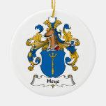 Escudo de la familia de Heye Adornos