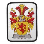 Escudo de la familia de Heye Fundas Para iPads
