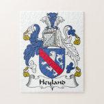 Escudo de la familia de Heyland Puzzles Con Fotos