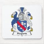 Escudo de la familia de Heyland Alfombrilla De Ratones
