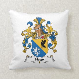 Escudo de la familia de Heyn Cojines