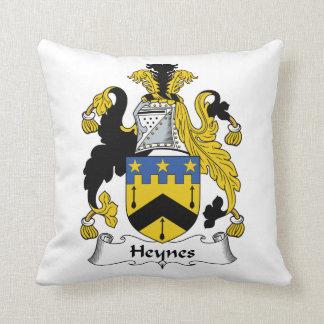 Escudo de la familia de Heynes Almohada