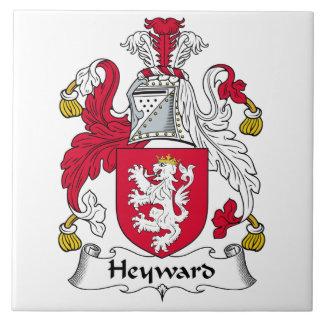Escudo de la familia de Heyward Teja