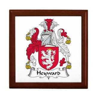 Escudo de la familia de Heyward Caja De Joyas