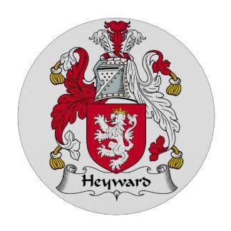 Escudo de la familia de Heyward Fichas De Póquer