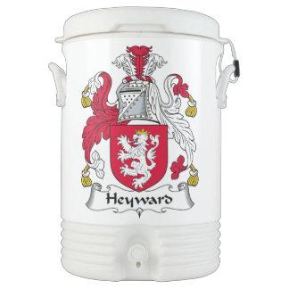Escudo de la familia de Heyward Enfriador De Bebida Igloo