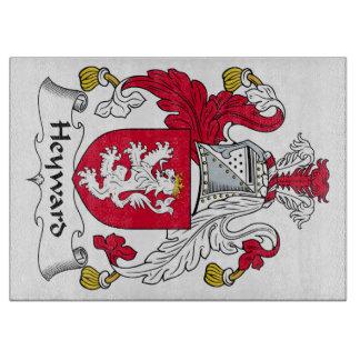 Escudo de la familia de Heyward Tablas De Cortar