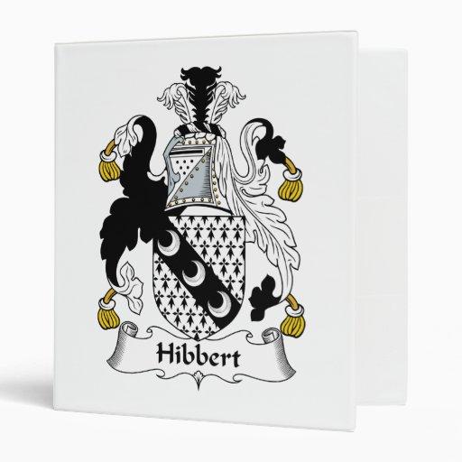 Escudo de la familia de Hibbert