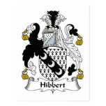 Escudo de la familia de Hibbert Postal