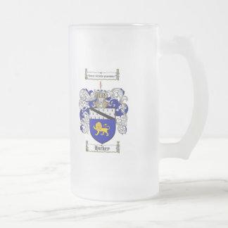 ESCUDO DE LA FAMILIA DE HICKEY - ESCUDO DE ARMAS D TAZAS DE CAFÉ