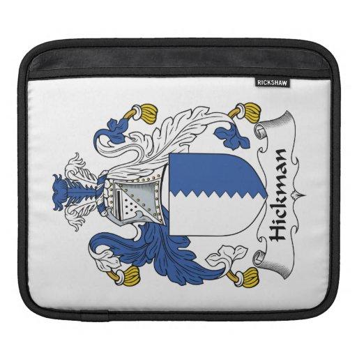 Escudo de la familia de Hickman Funda Para iPads