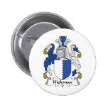 Escudo de la familia de Hickman Pins