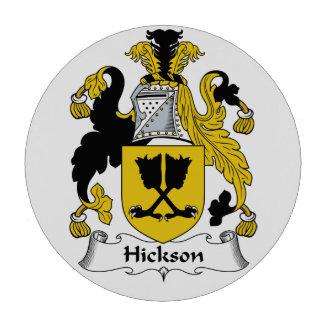 Escudo de la familia de Hickson Fichas De Póquer