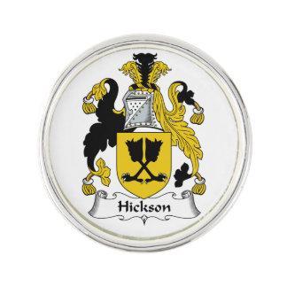 Escudo de la familia de Hickson Insignia
