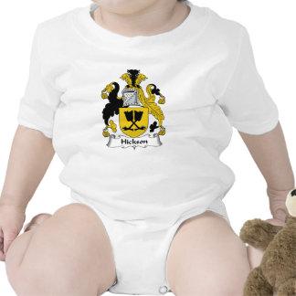 Escudo de la familia de Hickson Traje De Bebé
