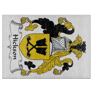 Escudo de la familia de Hickson Tablas De Cortar
