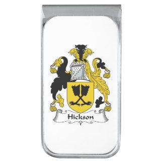 Escudo de la familia de Hickson