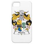 Escudo de la familia de Hierro iPhone 5 Case-Mate Coberturas