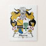 Escudo de la familia de Hierro Puzzle Con Fotos
