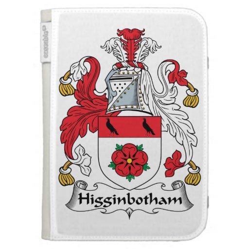 Escudo de la familia de Higginbotham