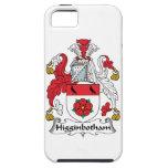 Escudo de la familia de Higginbotham iPhone 5 Protectores