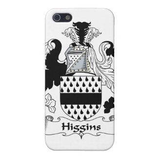 Escudo de la familia de Higgins iPhone 5 Carcasa