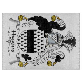 Escudo de la familia de Higgins Tabla De Cortar