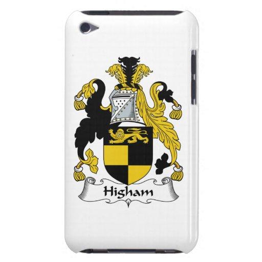Escudo de la familia de Higham iPod Case-Mate Protector