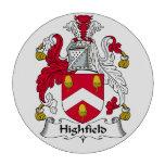 Escudo de la familia de Highfield Juego De Fichas De Póquer