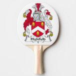 Escudo de la familia de Highfield Pala De Tenis De Mesa