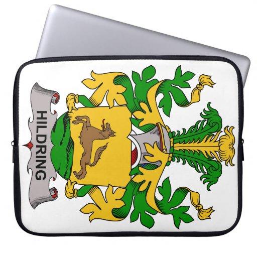 Escudo de la familia de Hildring Funda Ordendadores