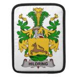 Escudo de la familia de Hildring Fundas Para iPads
