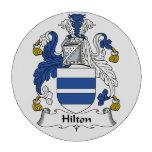 Escudo de la familia de Hilton Juego De Fichas De Póquer