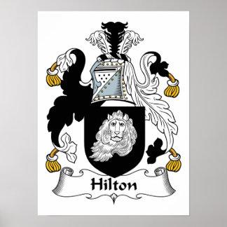 Escudo de la familia de Hilton Impresiones