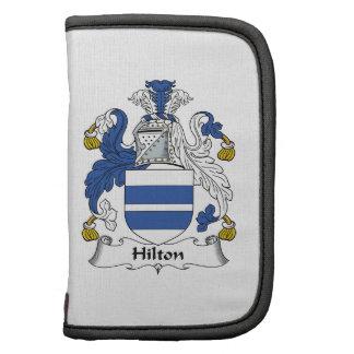 Escudo de la familia de Hilton Organizadores