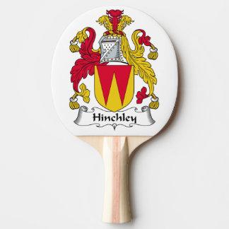 Escudo de la familia de Hinchley Pala De Tenis De Mesa