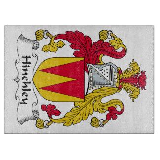 Escudo de la familia de Hinchley Tablas De Cortar