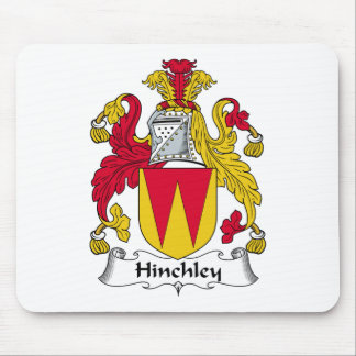 Escudo de la familia de Hinchley Tapete De Ratones