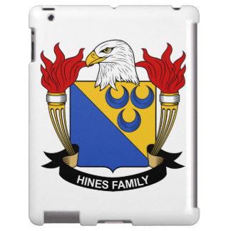 Escudo de la familia de Hines Funda Para iPad