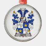 Escudo de la familia de Hintz Ornamentos De Reyes Magos