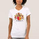 Escudo de la familia de Hirschfeld Camisetas