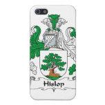 Escudo de la familia de Hislop iPhone 5 Fundas