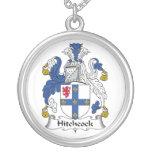 Escudo de la familia de Hitchcock Pendiente Personalizado