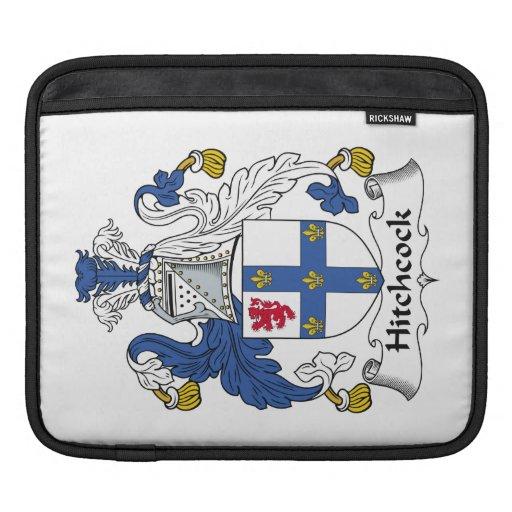 Escudo de la familia de Hitchcock Funda Para iPads