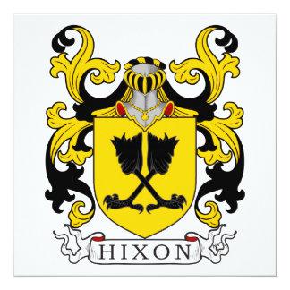 Escudo de la familia de Hixon Comunicado Personal